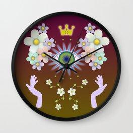 Ad Infinitum Wall Clock