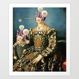 Angelo Bronzino, Eleonora Toledo with Child and the New Reverse Art Print