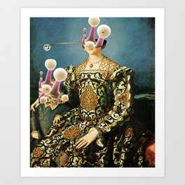 Angelo Bronzino, Eleonora Toledo with Child and the New Reverse Art Print