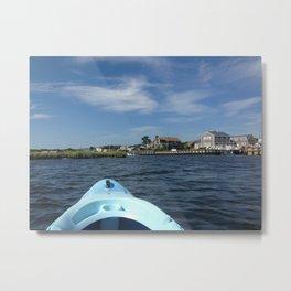 Cape Cod Kayak Metal Print