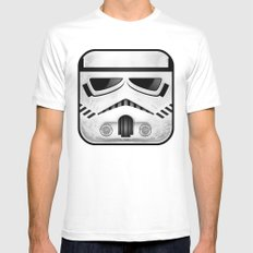 stormtrooper MEDIUM White Mens Fitted Tee