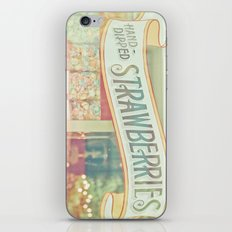 Hand-Dipped Strawberries iPhone & iPod Skin