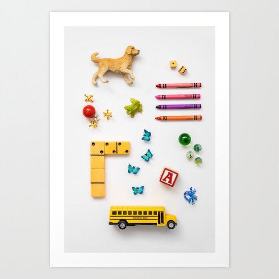 Kids' Stuff Art Print