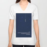 hook V-neck T-shirts featuring HOOK - FontLove  by Luca Milani