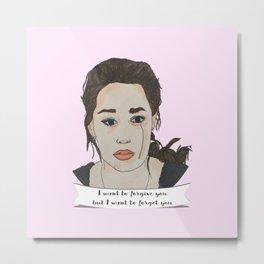 Lauren Conrad Crying Metal Print
