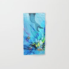 Mermaid house Hand & Bath Towel