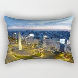 Buenos Aires Obelisco Rectangular Pillow
