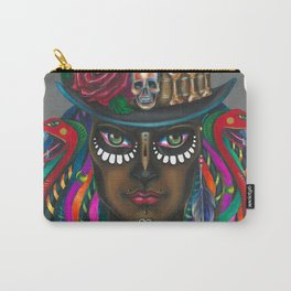 Sugar Black Rose Carry-All Pouch