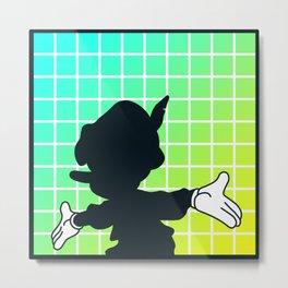 Shadow - Pinocchio Metal Print