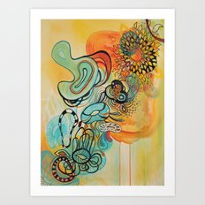 Reptar Art Print