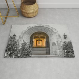 Passage to Covered Walkway Gale Hall Lyman Hall Rollins College Central Florida Orlando Winter Park Rug