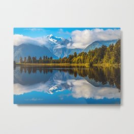 New Zealand Scenery Metal Print