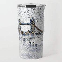 Tower bridge and Southbank London Travel Mug