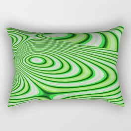 Oozing Green Irish Rectangular Pillow