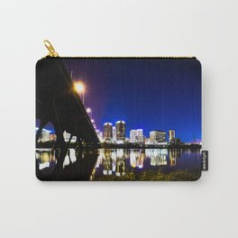 RVA Skyline at Night Carry-All Pouch