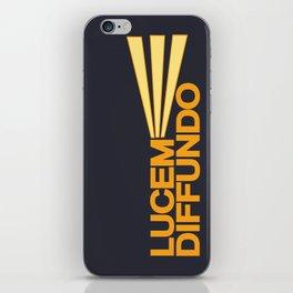 Lucem Diffundo iPhone Skin