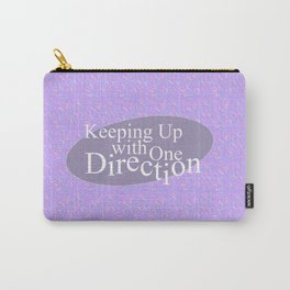 Keeping Up With One Direction Carry-All Pouch