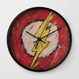 The Flash Wall Clock
