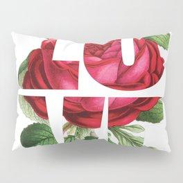 LOVE Romantic Ladies Design Pillow Sham