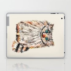 Funny  Cat  Nafaniya - Pastels - Painting Laptop & iPad Skin