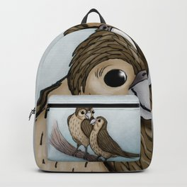 Love sparrows Backpack