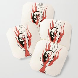 flaming heck Coaster