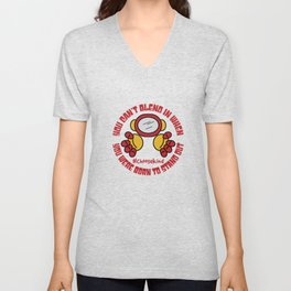 Support the Anti Bullying Campaign with this awesome Space Astronaut Helmet Unisex V-Neck