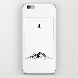 TOUCHING THE CLOUDS II iPhone Skin