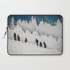 A Snowy Hike II Laptop Sleeve