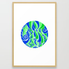 Water Life :: Color Therapy Collection :: Framed Art Print