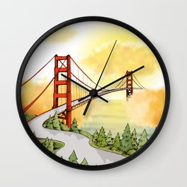 San Francisco Horizon Wall Clock