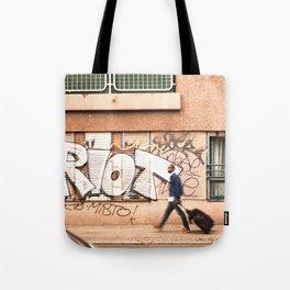 #TAGGING STREETART LIFE BERLIN, GERMANY by Jay Hops Tote Bag