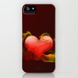 Heartbeat II iPhone Case