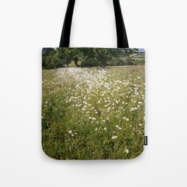 Path of Daisies Tote Bag
