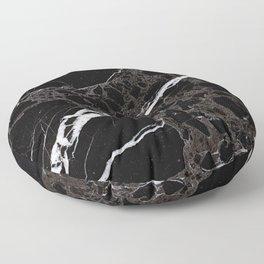 NETWORKED BLACK & WHITE Floor Pillow