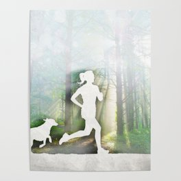 Forest Run Poster