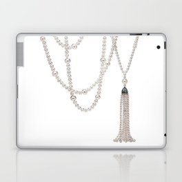 White Pearl Laptop & iPad Skin