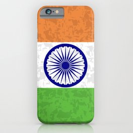 Flag of India iPhone Case