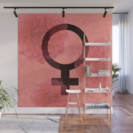 Female Symbol Wall Mural