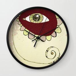 See No Evil - Pink Wall Clock