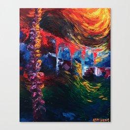 """Lavender"" Painting Canvas Print"