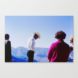 Cowboy Guide Canvas Print