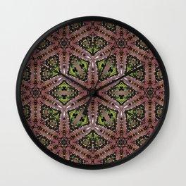 Lace Cactus Wall Clock