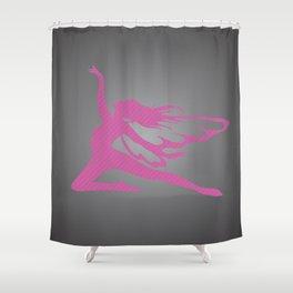 A fairy on Move Shower Curtain