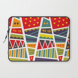 pyramids up and down Laptop Sleeve