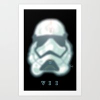 Episode 7 The Force Awakens...  NEW TROOPER!!! Art Print