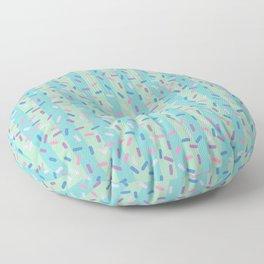 Mermaid Ice Cream Party Floor Pillow