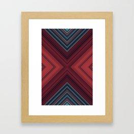 Red Floor Framed Art Print