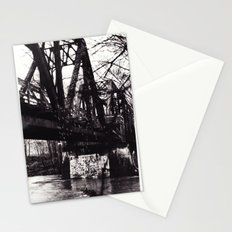 Stencil under the Bridge Stationery Cards