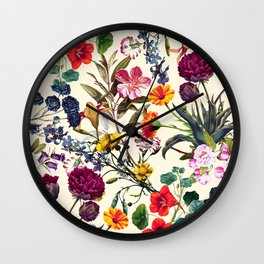 Magical Garden V Wall Clock